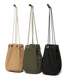 <img class='new_mark_img1' src='https://img.shop-pro.jp/img/new/icons49.gif' style='border:none;display:inline;margin:0px;padding:0px;width:auto;' />hobo <BR>Cotton Twill Drawstring Bag SOLD OUT