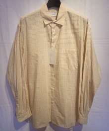 <img class='new_mark_img1' src='https://img.shop-pro.jp/img/new/icons8.gif' style='border:none;display:inline;margin:0px;padding:0px;width:auto;' />MARKAWARE <BR>POPLIN CHECK WIDE COLLAR SHIRTS