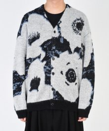 <img class='new_mark_img1' src='https://img.shop-pro.jp/img/new/icons49.gif' style='border:none;display:inline;margin:0px;padding:0px;width:auto;' />LAD MUSICIAN <BR>MOHAIR WJQ KNIT BIG CARDIGAN (BLACK×WHITE×BLUE GRAY) SOLD OUT