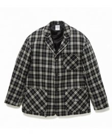 """<img class='new_mark_img1' src='https://img.shop-pro.jp/img/new/icons34.gif' style='border:none;display:inline;margin:0px;padding:0px;width:auto;' />BEDWIN <BR>4B WOOL FLANNEL TAYLOR JACKET """"TRAVIS"""""""