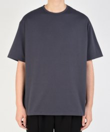 <img class='new_mark_img1' src='https://img.shop-pro.jp/img/new/icons49.gif' style='border:none;display:inline;margin:0px;padding:0px;width:auto;' />LAD MUSICIAN <BR> PERMANENT ROCKER BIG T-SHIRT (PURPLE GRAY)【SOLD OUT】