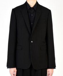 <img class='new_mark_img1' src='https://img.shop-pro.jp/img/new/icons49.gif' style='border:none;display:inline;margin:0px;padding:0px;width:auto;' />LAD MUSICIAN <BR>WOOL GABARDINE STANDARD 1B JACKET SOLD OUT