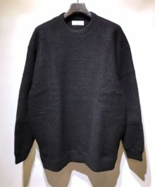<img class='new_mark_img1' src='https://img.shop-pro.jp/img/new/icons49.gif' style='border:none;display:inline;margin:0px;padding:0px;width:auto;' />MARKAWARE <BR>WOOL SHEEP PILE CREW NECK (BLACK) SOLD OUT