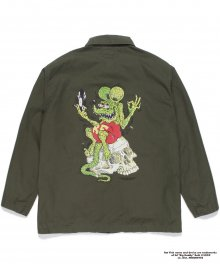 <img class='new_mark_img1' src='https://img.shop-pro.jp/img/new/icons49.gif' style='border:none;display:inline;margin:0px;padding:0px;width:auto;' />WACKOMARIA<BR> RAT FINK / TIMLEHI / ARMY SHIRT SOLD OUT