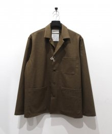 <img class='new_mark_img1' src='https://img.shop-pro.jp/img/new/icons49.gif' style='border:none;display:inline;margin:0px;padding:0px;width:auto;' />MARKAWARE <BR>SHIRT JACKET (KHAKI) SOLD OUT