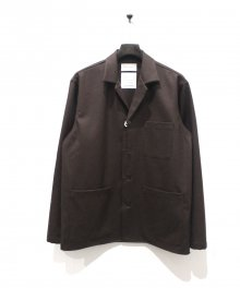 <img class='new_mark_img1' src='https://img.shop-pro.jp/img/new/icons49.gif' style='border:none;display:inline;margin:0px;padding:0px;width:auto;' />MARKAWARE <BR>SHIRT JACKET (DARK BROWN) SOLD OUT