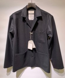 <img class='new_mark_img1' src='https://img.shop-pro.jp/img/new/icons49.gif' style='border:none;display:inline;margin:0px;padding:0px;width:auto;' />marka <BR>SHIRT JACKET (BLACK) SOLD OUT