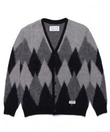 <img class='new_mark_img1' src='https://img.shop-pro.jp/img/new/icons49.gif' style='border:none;display:inline;margin:0px;padding:0px;width:auto;' />WACKOMARIA<BR> DIAMOND MOHAIR CARDIGAN SOLD OUT