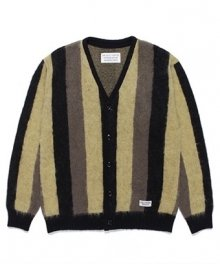 <img class='new_mark_img1' src='https://img.shop-pro.jp/img/new/icons49.gif' style='border:none;display:inline;margin:0px;padding:0px;width:auto;' />WACKOMARIA<BR> STRIPED MOHAIR CARDIGAN SOLD OUT
