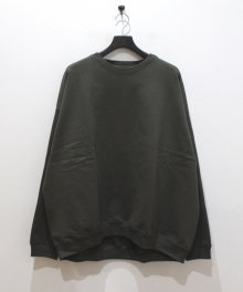 <img class='new_mark_img1' src='https://img.shop-pro.jp/img/new/icons49.gif' style='border:none;display:inline;margin:0px;padding:0px;width:auto;' />MARKAWARE <BR>HUGE SWEAT SHIRT ORGANIC COTTON SWIZER HEAVY FLEECE (OLIVE METAL) SOLD OUT