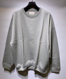 <img class='new_mark_img1' src='https://img.shop-pro.jp/img/new/icons49.gif' style='border:none;display:inline;margin:0px;padding:0px;width:auto;' />MARKAWARE <BR>HUGE SWEAT SHIRT ORGANIC COTTON SWIZER HEAVY FLEECE (SAGE) SOLD OUT