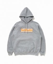 """<img class='new_mark_img1' src='https://img.shop-pro.jp/img/new/icons34.gif' style='border:none;display:inline;margin:0px;padding:0px;width:auto;' />BEDWIN <BR>L/S PULLOVER HOODED SWEAT""""DAVID"""" (GRAY)"""