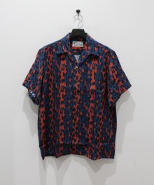 <img class='new_mark_img1' src='https://img.shop-pro.jp/img/new/icons49.gif' style='border:none;display:inline;margin:0px;padding:0px;width:auto;' />WACKOMARIA<BR> HAWAIIAN SHIRT S/S ( TYPE-6 ) (BLUE) SOLD OUT
