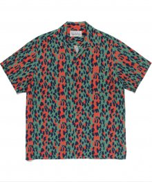 <img class='new_mark_img1' src='https://img.shop-pro.jp/img/new/icons49.gif' style='border:none;display:inline;margin:0px;padding:0px;width:auto;' />WACKOMARIA<BR> HAWAIIAN SHIRT S/S ( TYPE-6 ) (GREEN) SOLD OUT