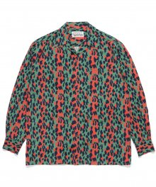 <img class='new_mark_img1' src='https://img.shop-pro.jp/img/new/icons49.gif' style='border:none;display:inline;margin:0px;padding:0px;width:auto;' />WACKOMARIA<BR> HAWAIIAN SHIRT L/S ( TYPE-2 ) ( GREEN ) SOLD OUT