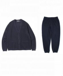 <img class='new_mark_img1' src='https://img.shop-pro.jp/img/new/icons8.gif' style='border:none;display:inline;margin:0px;padding:0px;width:auto;' />UNIVERSAL<BR>PRODUCTS <BR>PIQUE CARDIGAN&EASY PANTS SET (NAVY)