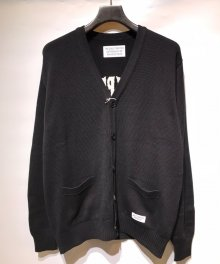 <img class='new_mark_img1' src='https://img.shop-pro.jp/img/new/icons49.gif' style='border:none;display:inline;margin:0px;padding:0px;width:auto;' />WACKOMARIA<BR> CLASSIC CARDIGAN ( TYPE-2 ) (BLACK) 【SOLD OUT】