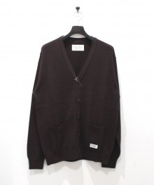 <img class='new_mark_img1' src='https://img.shop-pro.jp/img/new/icons49.gif' style='border:none;display:inline;margin:0px;padding:0px;width:auto;' />WACKOMARIA<BR> CLASSIC CARDIGAN ( TYPE-1 ) (BROWN) SOLD OUT
