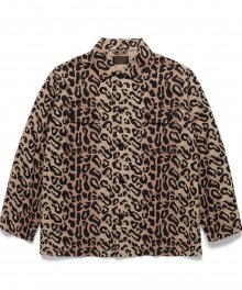 <img class='new_mark_img1' src='https://img.shop-pro.jp/img/new/icons49.gif' style='border:none;display:inline;margin:0px;padding:0px;width:auto;' />WACKOMARIA<BR> LEOPARD ARMY SHIRT ( TYPE-1 ) SOLD OUT