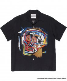 <img class='new_mark_img1' src='https://img.shop-pro.jp/img/new/icons49.gif' style='border:none;display:inline;margin:0px;padding:0px;width:auto;' />WACKOMARIA<BR> JEAN-MICHEL BASQUIAT / S/S HAWAIIAN SHIRT(TYPE-1) SOLD OUT