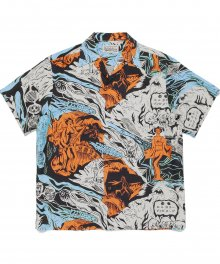 <img class='new_mark_img1' src='https://img.shop-pro.jp/img/new/icons49.gif' style='border:none;display:inline;margin:0px;padding:0px;width:auto;' />WACKOMARIA<BR> HAWAIIAN SHIRT S/S ( TYPE-1 ) (IVORY) SOLD OUT
