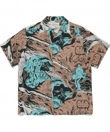 <img class='new_mark_img1' src='https://img.shop-pro.jp/img/new/icons49.gif' style='border:none;display:inline;margin:0px;padding:0px;width:auto;' />WACKOMARIA<BR> HAWAIIAN SHIRT S/S ( TYPE-1 ) (BEIGE) SOLD OUT
