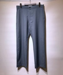 <img class='new_mark_img1' src='https://img.shop-pro.jp/img/new/icons8.gif' style='border:none;display:inline;margin:0px;padding:0px;width:auto;' />marka <BR>STRAIGHT FIT EASY TROUSERS - WOOL MOHAIR TROPICAL - (BLUE)