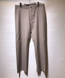 <img class='new_mark_img1' src='https://img.shop-pro.jp/img/new/icons8.gif' style='border:none;display:inline;margin:0px;padding:0px;width:auto;' />marka <BR>STRAIGHT FIT EASY TROUSERS - WOOL MOHAIR TROPICAL - (GRAYGE)