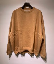 <img class='new_mark_img1' src='https://img.shop-pro.jp/img/new/icons49.gif' style='border:none;display:inline;margin:0px;padding:0px;width:auto;' />MARKAWARE <BR>HUGE SWEAT - ORGANIC COTTON HEAVY FLEECE - (NATURAL BROWN)【SOLD OUT】