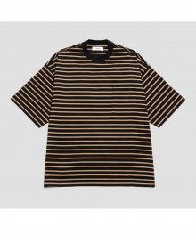 <img class='new_mark_img1' src='https://img.shop-pro.jp/img/new/icons8.gif' style='border:none;display:inline;margin:0px;padding:0px;width:auto;' />marka <BR> BORDER TEE (BLACK×BEIGE)