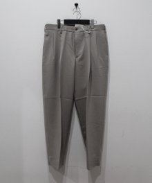 <img class='new_mark_img1' src='https://img.shop-pro.jp/img/new/icons8.gif' style='border:none;display:inline;margin:0px;padding:0px;width:auto;' />marka <BR>2TUCK COCOON FIT TROUSERS - 2/48 WOOL SOFT SERGE - (GRAYGE)