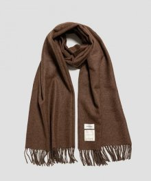 <img class='new_mark_img1' src='https://img.shop-pro.jp/img/new/icons49.gif' style='border:none;display:inline;margin:0px;padding:0px;width:auto;' />MARKAWARE <BR>NATURAL COLOR ALPACA STOLE (NATURAL BROWN) 【SOLD OUT】
