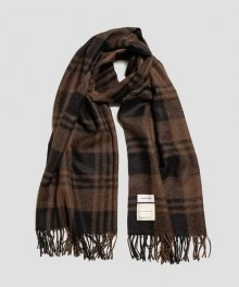 <img class='new_mark_img1' src='https://img.shop-pro.jp/img/new/icons49.gif' style='border:none;display:inline;margin:0px;padding:0px;width:auto;' />MARKAWARE <BR>NATURAL COLOR ALPACA STOLE (BROWN PLAID) SOLD OUT