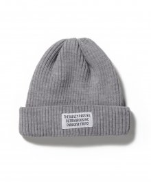 <img class='new_mark_img1' src='https://img.shop-pro.jp/img/new/icons8.gif' style='border:none;display:inline;margin:0px;padding:0px;width:auto;' />WACKOMARIA<BR> WOOL KNIT WATCH CAP ( TYPE-1 ) (GRAY)