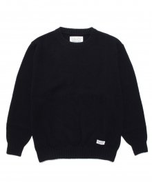 WACKOMARIA<BR> CLASSIC CREW NECK SWEATER (BLACK) SOLD OUT<img class='new_mark_img2' src='https://img.shop-pro.jp/img/new/icons50.gif' style='border:none;display:inline;margin:0px;padding:0px;width:auto;' />