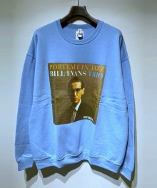 <img class='new_mark_img1' src='https://img.shop-pro.jp/img/new/icons49.gif' style='border:none;display:inline;margin:0px;padding:0px;width:auto;' />WACKOMARIA<BR> BILL EVANS / CREW NECK SWEAT SHIRT ( TYPE-1 ) SOLD OUT