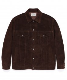 <img class='new_mark_img1' src='https://img.shop-pro.jp/img/new/icons49.gif' style='border:none;display:inline;margin:0px;padding:0px;width:auto;' />WACKOMARIA<BR> LEATHER TRUCKER JACKET 【SOLD OUT】