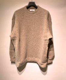 <img class='new_mark_img1' src='https://img.shop-pro.jp/img/new/icons8.gif' style='border:none;display:inline;margin:0px;padding:0px;width:auto;' />marka <BR>CREW NECK - WOOL PILE SHEEP - (LIGHT BEIGE)