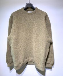 <img class='new_mark_img1' src='https://img.shop-pro.jp/img/new/icons8.gif' style='border:none;display:inline;margin:0px;padding:0px;width:auto;' />marka <BR>CREW NECK - WOOL PILE SHEEP - (YELLOW BEIGE)