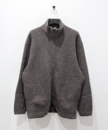 <img class='new_mark_img1' src='https://img.shop-pro.jp/img/new/icons8.gif' style='border:none;display:inline;margin:0px;padding:0px;width:auto;' />marka <BR>ZIP UP CARDIGAN - WOOL PILE SHEEP - (TOP BROWN)