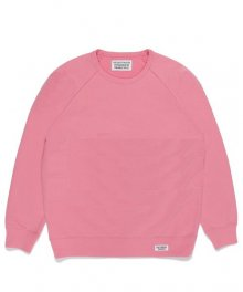 <img class='new_mark_img1' src='https://img.shop-pro.jp/img/new/icons49.gif' style='border:none;display:inline;margin:0px;padding:0px;width:auto;' />WACKOMARIA<BR> WASHED HEAVY WEIGHT CREW NECK SWEAT SHIRT ( TYPE-1 ) (PINK)【SOLD OUT】