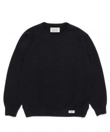 <img class='new_mark_img1' src='https://img.shop-pro.jp/img/new/icons8.gif' style='border:none;display:inline;margin:0px;padding:0px;width:auto;' />WACKOMARIA<BR> WASHED HEAVY WEIGHT CREW NECK SWEAT SHIRT ( TYPE-1 ) (BLACK)