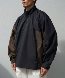 <img class='new_mark_img1' src='https://img.shop-pro.jp/img/new/icons8.gif' style='border:none;display:inline;margin:0px;padding:0px;width:auto;' />FAKIE STANCE<BR>Track Jacket Black×Brown