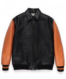 WACKOMARIA<BR> LEATHER VARSITY JACKET ( TYPE-3 ) SOLD OUT<img class='new_mark_img2' src='https://img.shop-pro.jp/img/new/icons49.gif' style='border:none;display:inline;margin:0px;padding:0px;width:auto;' />