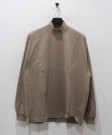 <img class='new_mark_img1' src='https://img.shop-pro.jp/img/new/icons8.gif' style='border:none;display:inline;margin:0px;padding:0px;width:auto;' />marka <BR> MOCK NECK - 40/2 COMBED KNIT - (MOCA)