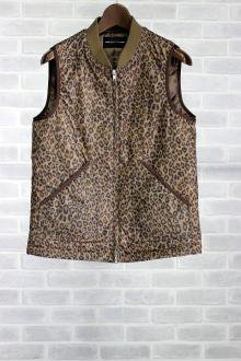 <img class='new_mark_img1' src='https://img.shop-pro.jp/img/new/icons34.gif' style='border:none;display:inline;margin:0px;padding:0px;width:auto;' />LOUNGELIZARD  NYLON RIP STOP VEST(LEOPARD)(5492)