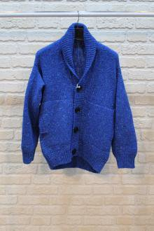<img class='new_mark_img1' src='https://img.shop-pro.jp/img/new/icons8.gif' style='border:none;display:inline;margin:0px;padding:0px;width:auto;' />marka DROP SHOULDER CARDIGAN(BLUE)