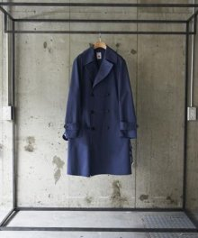 <img class='new_mark_img1' src='https://img.shop-pro.jp/img/new/icons8.gif' style='border:none;display:inline;margin:0px;padding:0px;width:auto;' />marka MILITARY TRENCH COAT (NAVY)