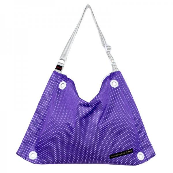 5edd29e72060 ファスバッグ Mサイズ メッシュ (Purple/ White) - 軽いユニセックスの ...