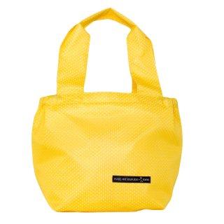 バスケットトート Sサイズ メッシュ (Yellow/White)